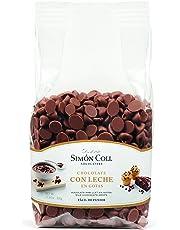 Simón Coll - Gotas de chocolate con leche - 500 gr.