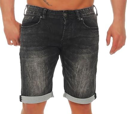 M.O.D Herren denim jogg Jeans Shorts MOD Thomas kurze Hose Bermuda Vintage  Look dehnbar stretch Sweat Pants  Amazon.de  Bekleidung 7bddfb811c