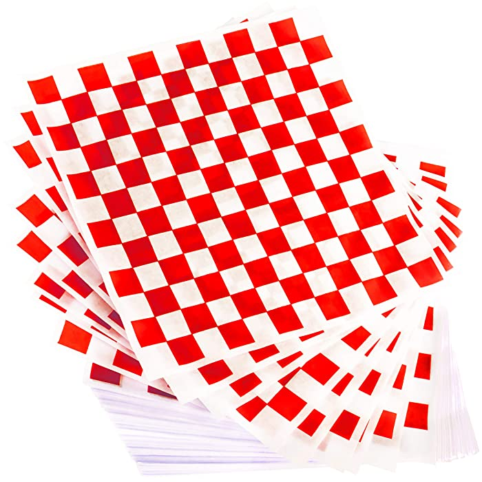 Top 10 Checkered Food Basket Liners 14 X 14