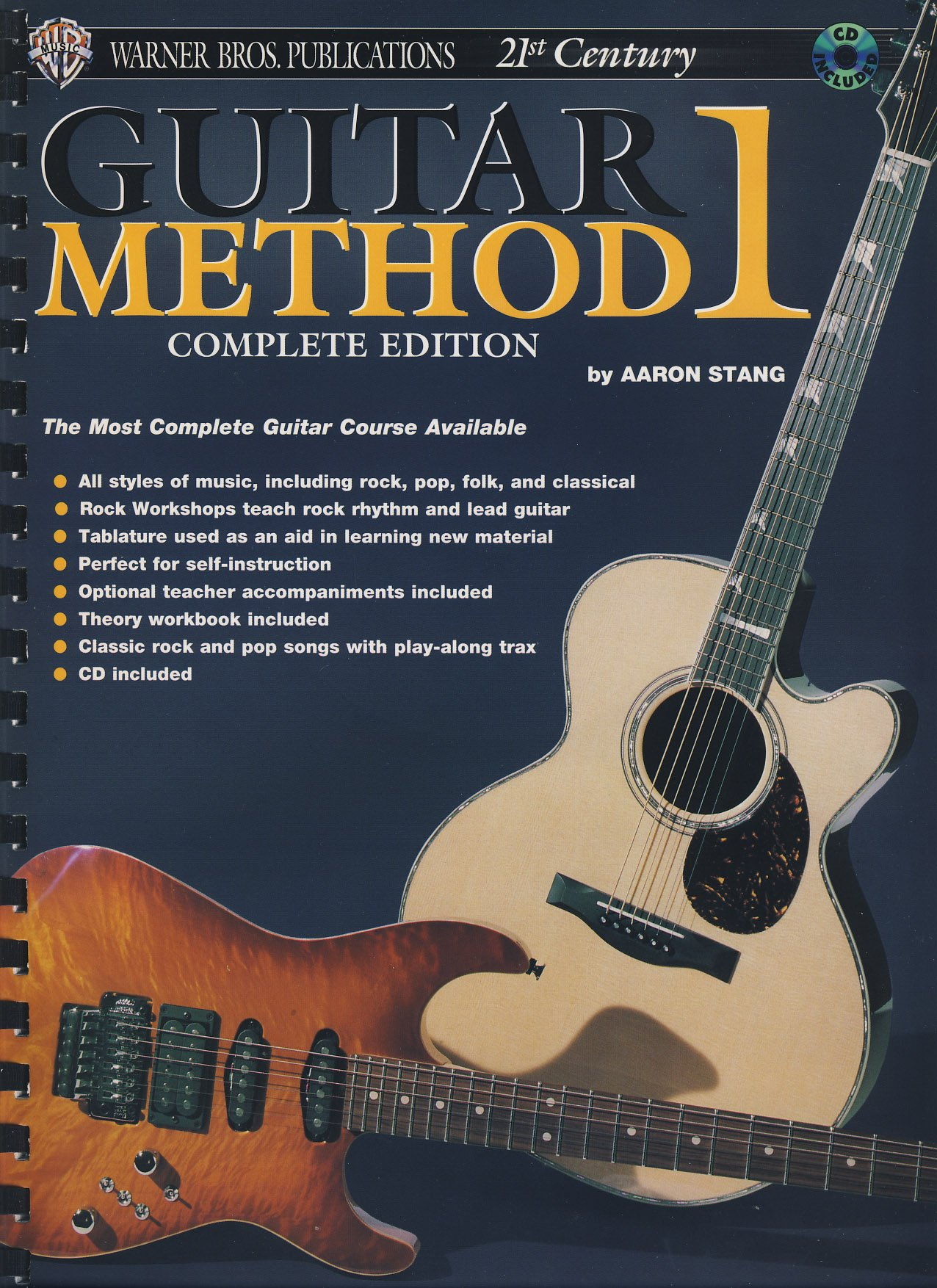 STANG - Method 1 (Complete Edition) para Guitarra Tab Acustica y Electrica (Inc.CD) Paperback – 2003