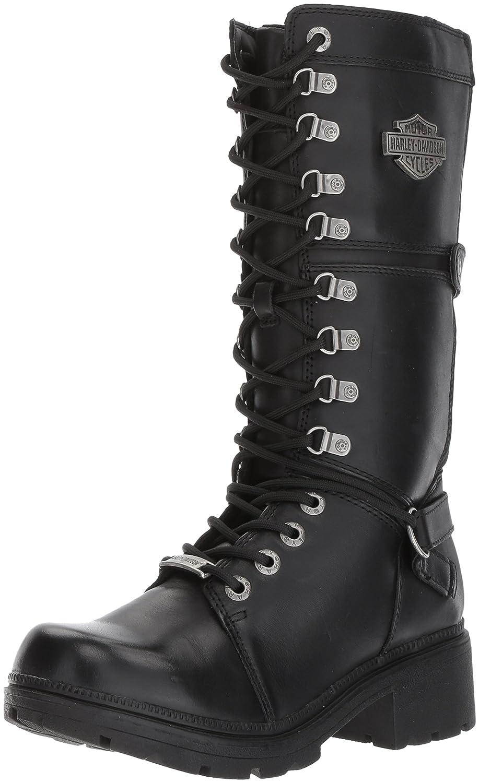 15f36a28b89b Amazon.com  Harley-Davidson Women s Harland 11-Inch Black Mid-Calf Motorcycle  Boots D83987  Harley-Davidson  Shoes