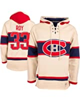 Montreal Canadiens Patrick Roy Vintage Heavyweight Jersey Lacer Hoodie