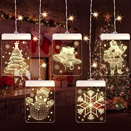 Led Christmas String Lights Uzone Window Curtain Ice String Light Usb Led Fairy Light Waterproof 3d Hanging String Light For Christmas Wedding Party