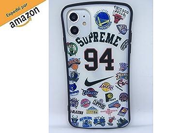 Funda Carcasa de Silicona iPhone 11 Basketball Equipos de ...