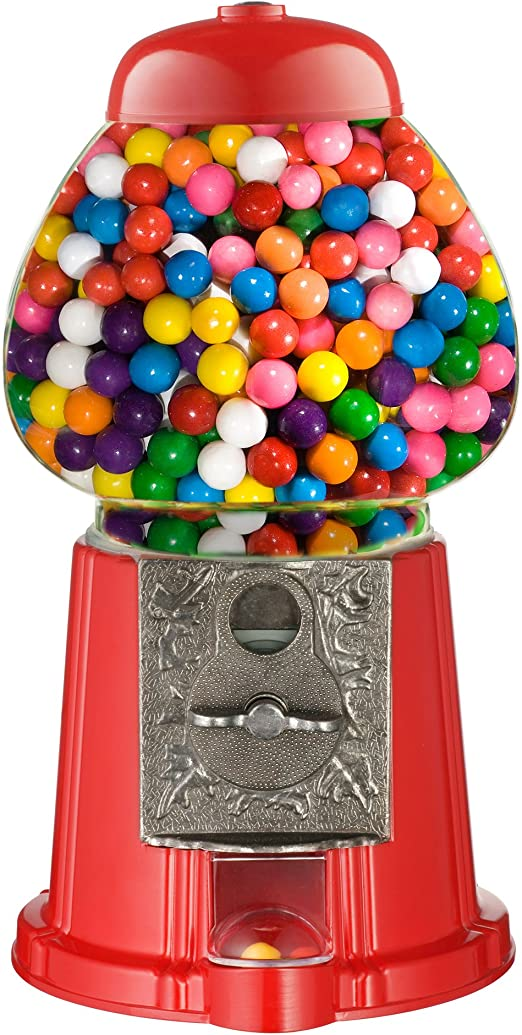 Everyo Great Northern 15-Inch Vintage Candy Gumball Machine and Bank with Stand