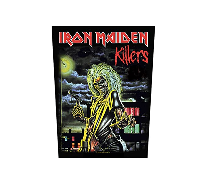 Unbekannt Iron Maiden Espalda parche - Killers - Iron Maiden Back Patch: Amazon.es: Ropa y accesorios