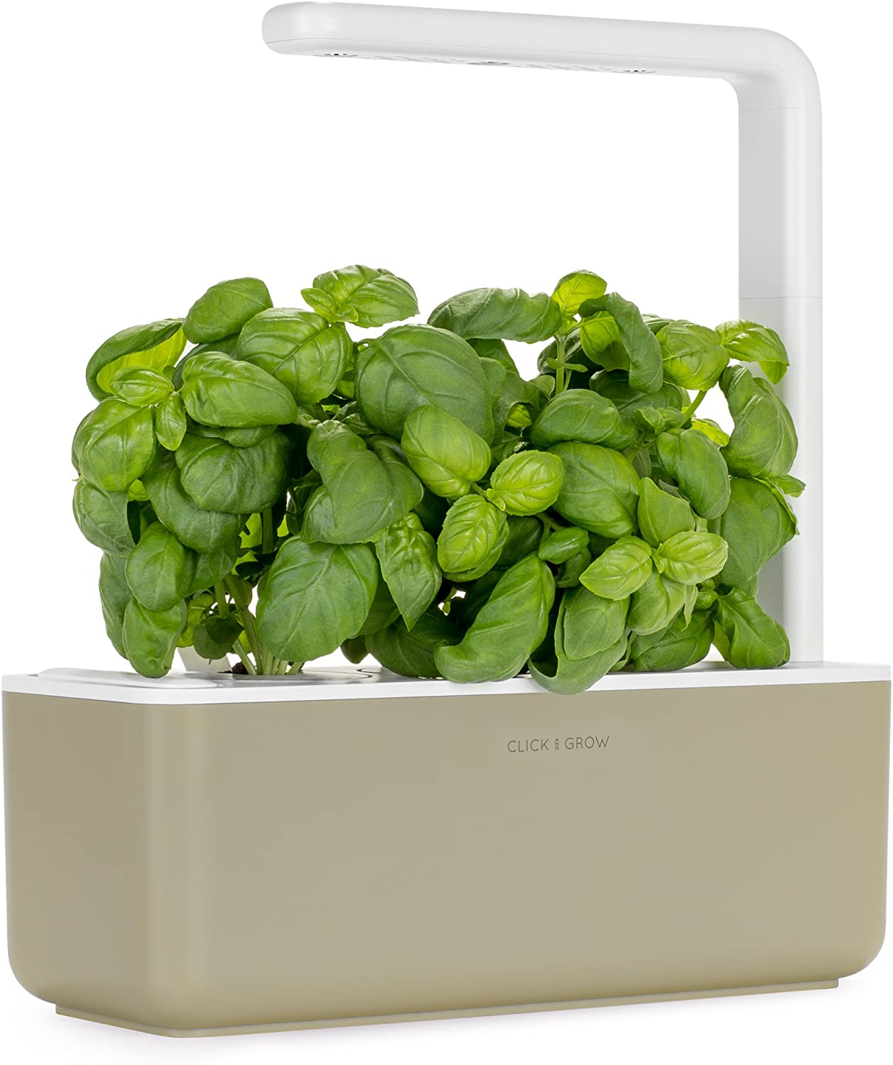Click & Grow Smart Garden with 3 Basil Cartridges, Barro