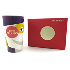 Starbucks 2015 Red Dot Collection New Orleans Travel Tumbler Mug