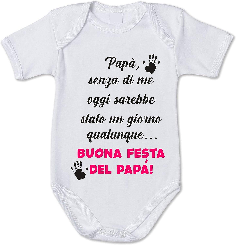 fashwork Body Neonato Divertente Maschietto Sono Come Il Mio pap/à Idea Regalo Festa del pap/à