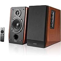 Edifier R1700BTs Active Bluetooth Bookshelf Speakers - 2.0 Wireless Near Field Studio Monitor Speaker - 66w RMS with…