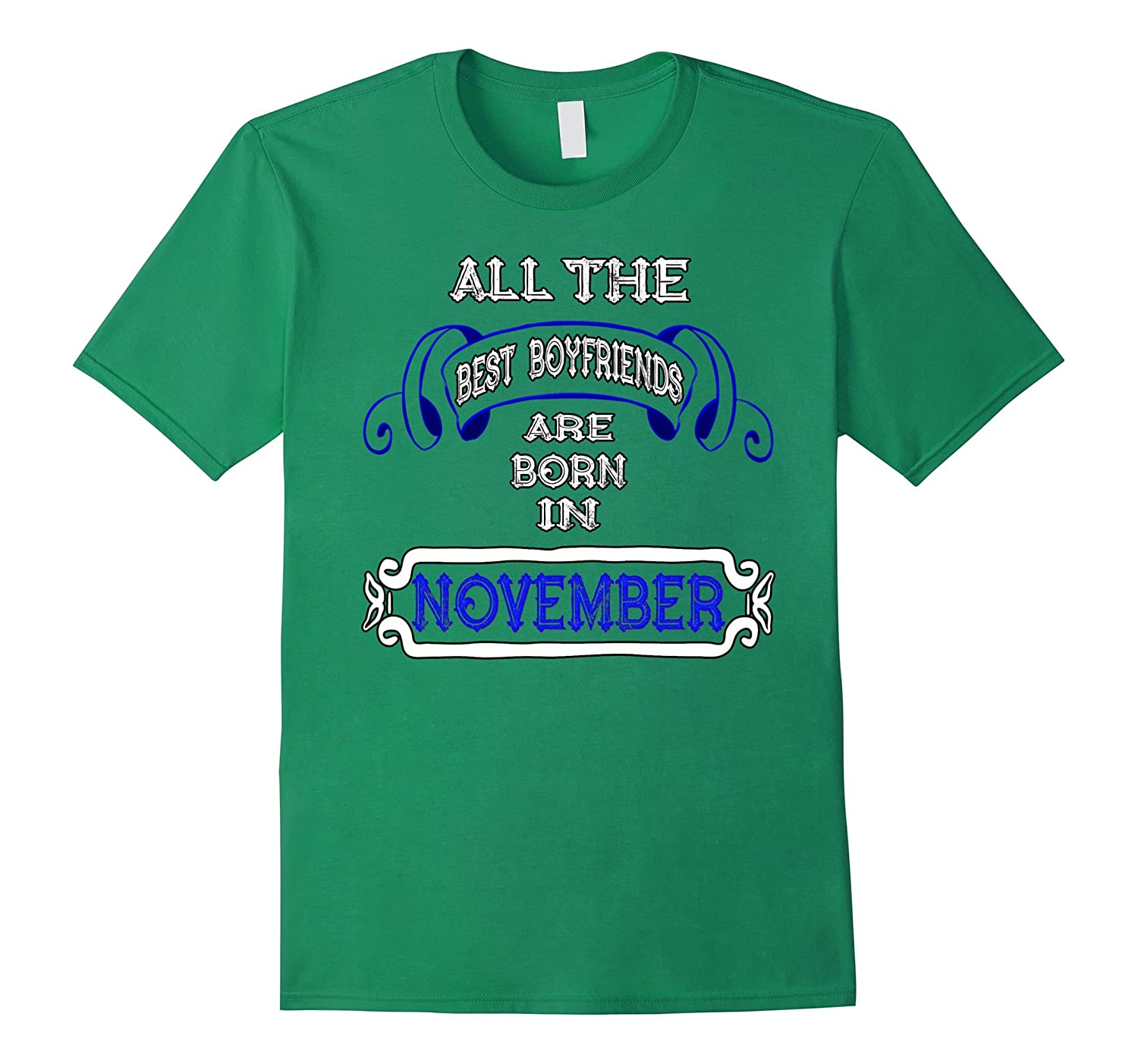 November Birthday Shirts For Men