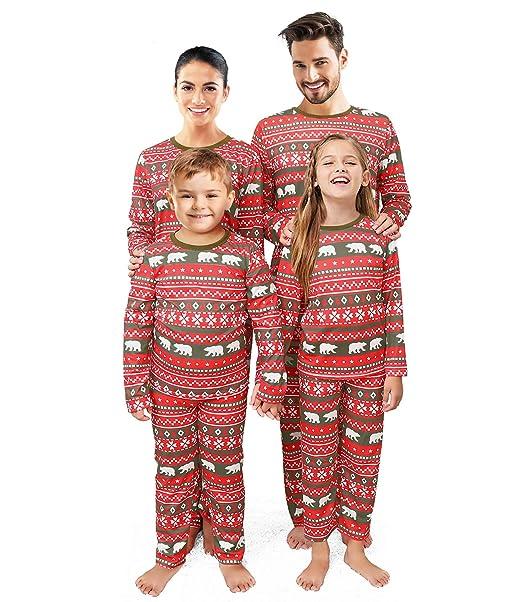 Matching Christmas Pjs.Qunisy Family Matching Christmas Pajamas Set Pyjamas Xmas Sleepwear Holiday Pjs Polar Bear