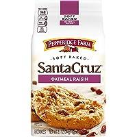 Pepperidge Farm Santa Cruz Soft Baked Oatmeal Raisin Cookies, 8.6 oz. Bag