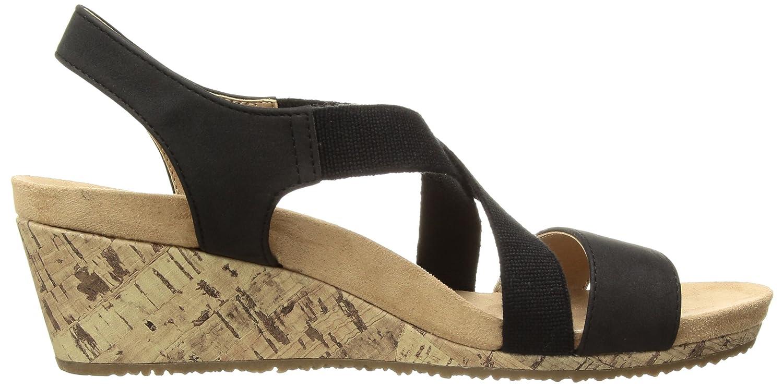 0120d9f6c444 Amazon.com  LifeStride Women s Mexico Wedge Sandal  Shoes