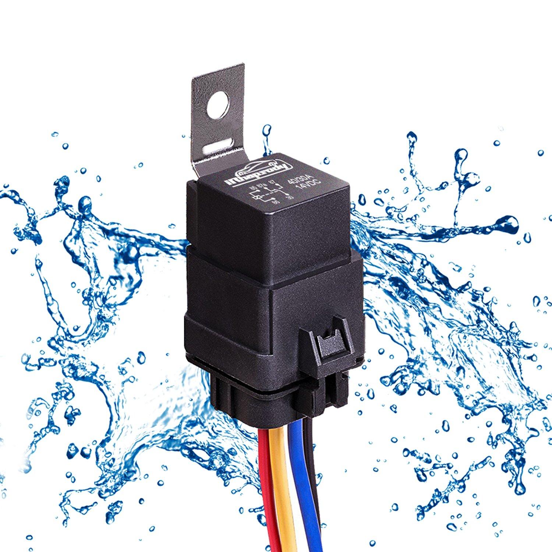 1 pack 40 30 amp automotive waterproof relay switch set heavy duty rh jsonshop top Wiring Harness Parts Wiring Harness Parts