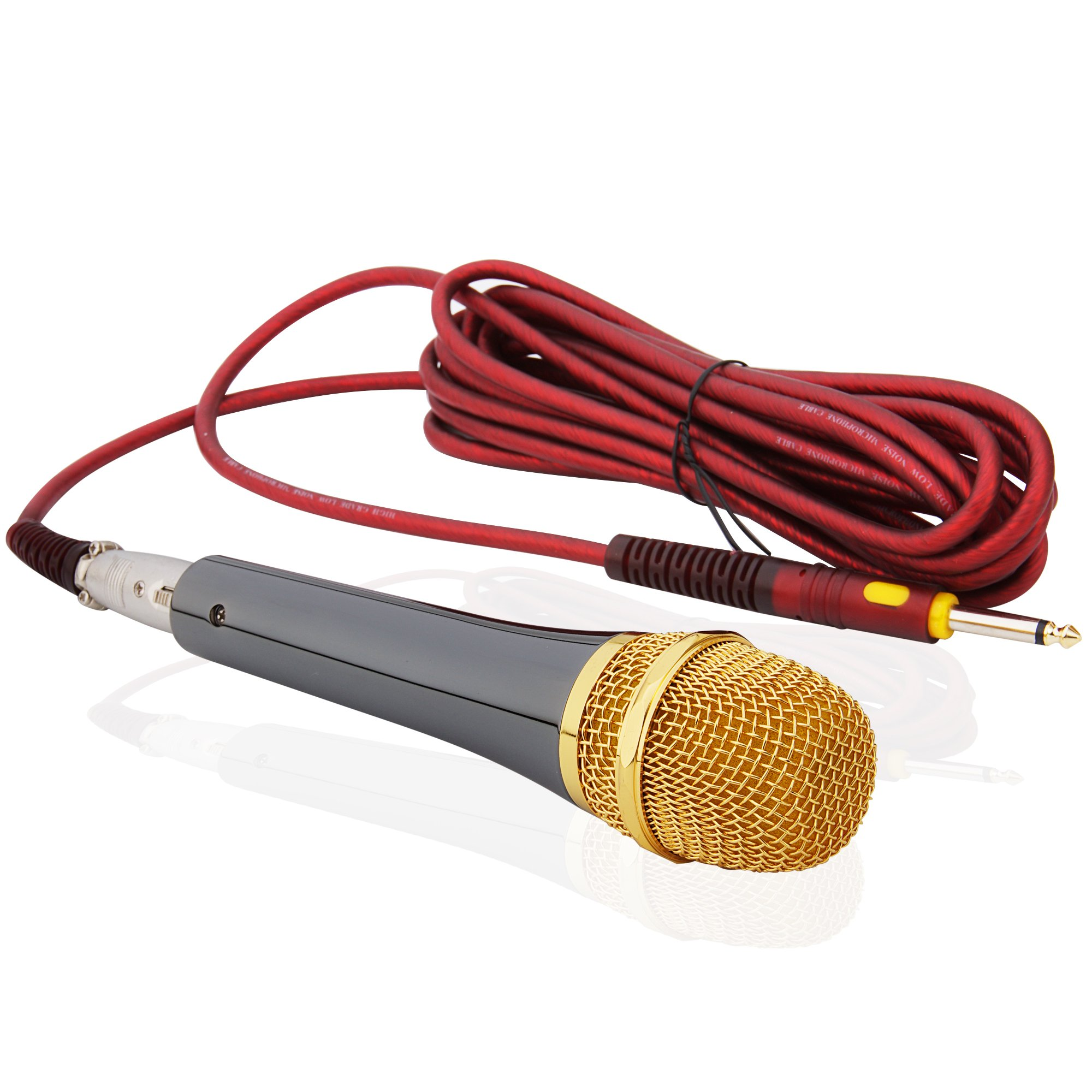 Anykey ANK-78 Cardioid Dynamic Vocal Microphone with 19.7 Ft Xlr-to-1/4'' Cable