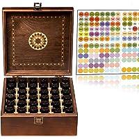 Beautiful Essential Oil Storage Organizer Box 36 Bottle - Holds 5-15ml &10ml Roller Bottles - Free Roller Bottle Opener…