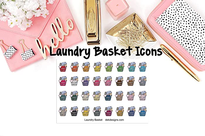 Top 10 Planner Laundry Basket Stickers