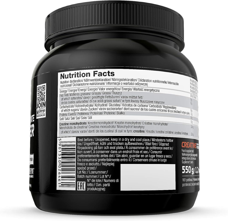 Olimp Sport Nutrition Creatina Monohydrate en Polvo - 550 g