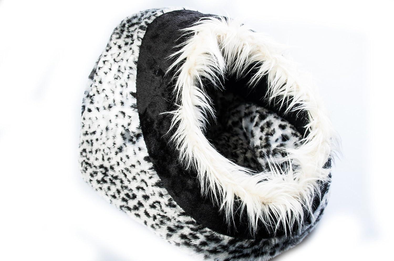 trixie 36303 kuschelh hle minou 35 26 41 cm schneeleopard ebay. Black Bedroom Furniture Sets. Home Design Ideas