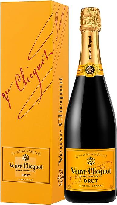 Veuve Clicquot Yellow Label (con estuche), Vino, Champagne, Champagne, Francia: Amazon.es: Alimentación y bebidas