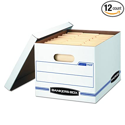 6d3bafbe768 Amazon.com  Bankers Box STOR File Storage Boxes