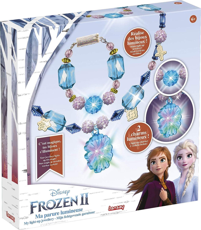 Parure bijoux la reine des neiges