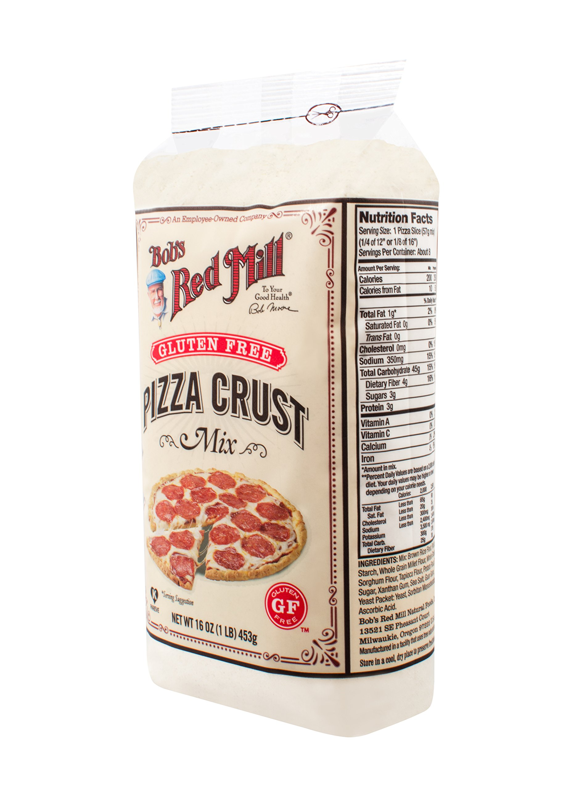 Gluten Free Pizza Crust Mix (16 Ounce) by Bob's Red Mill (Image #8)