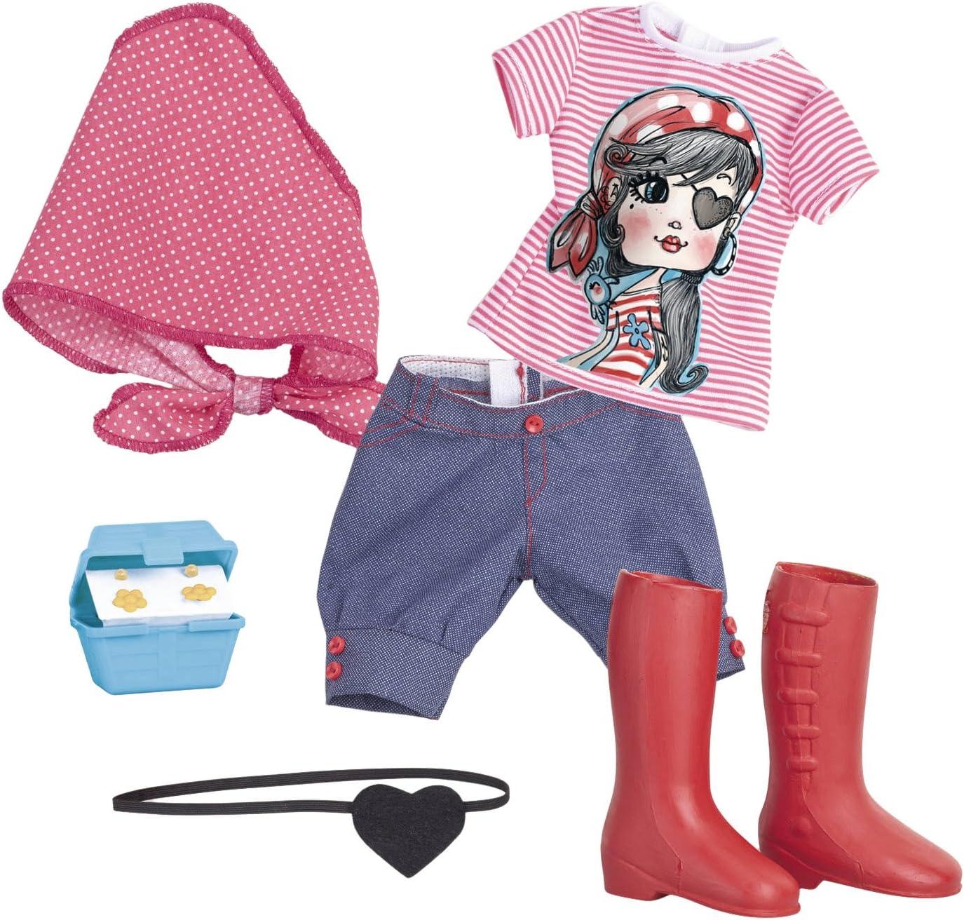 Amazon.es: Nancy Pack de ropita aventuras pirata (Famosa 700012723A): Juguetes y juegos