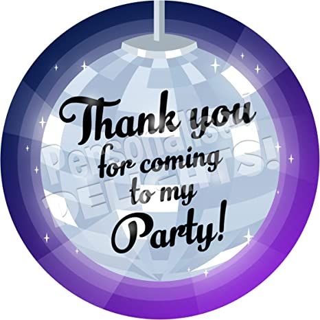 Personalised Football Birthday Party Stickers Thank You Sweet Cones Labels Seals
