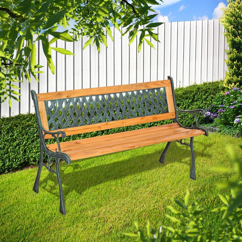2X Panca Panchina in legno al naturale o 7 colori 100x38.5x50cm ANCHE SU MISURA!