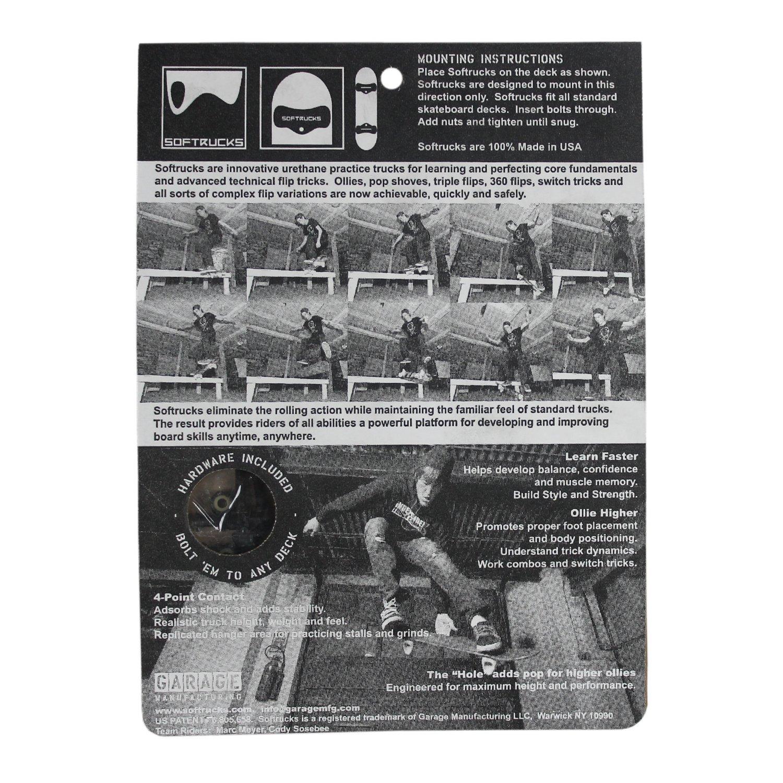 Soft Soft Soft Trucks pair skateboard Trucks (set of 2), nero B076FHSXGF Parent | Molto apprezzato e ampiamente fidato dentro e fuori  | Vendendo Bene In Tutto Il Mondo  | Vinto altamente stimato e ampiamente fidato in patria e all'estero  | Stile elegante  | P 4abb06