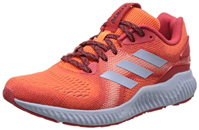 buy popular 52d22 46a01 adidas Womens Aerobounce ST Running Shoes, (Hi-Res OrangeReal Coral