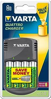 VARTA Mini Charger - Cargador de pilas AA o AAA recargables ...