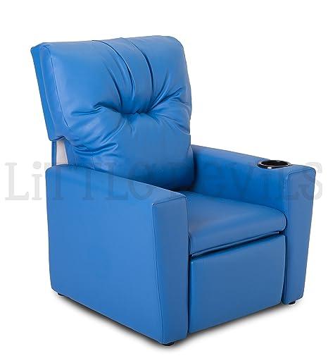Sillón reclinable para niños/juegos/sofá/de la silla de piel sintética - por diablitos directo