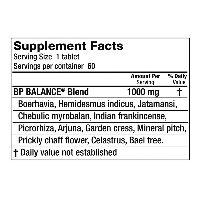 bp balance 60 tablets 1000 mg ea