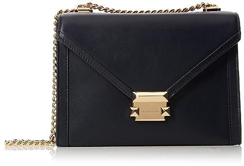 1b86601cce5c Michael Kors Womens M Group Shoulder Bag Blue (ADMIRAL)  Amazon.co ...