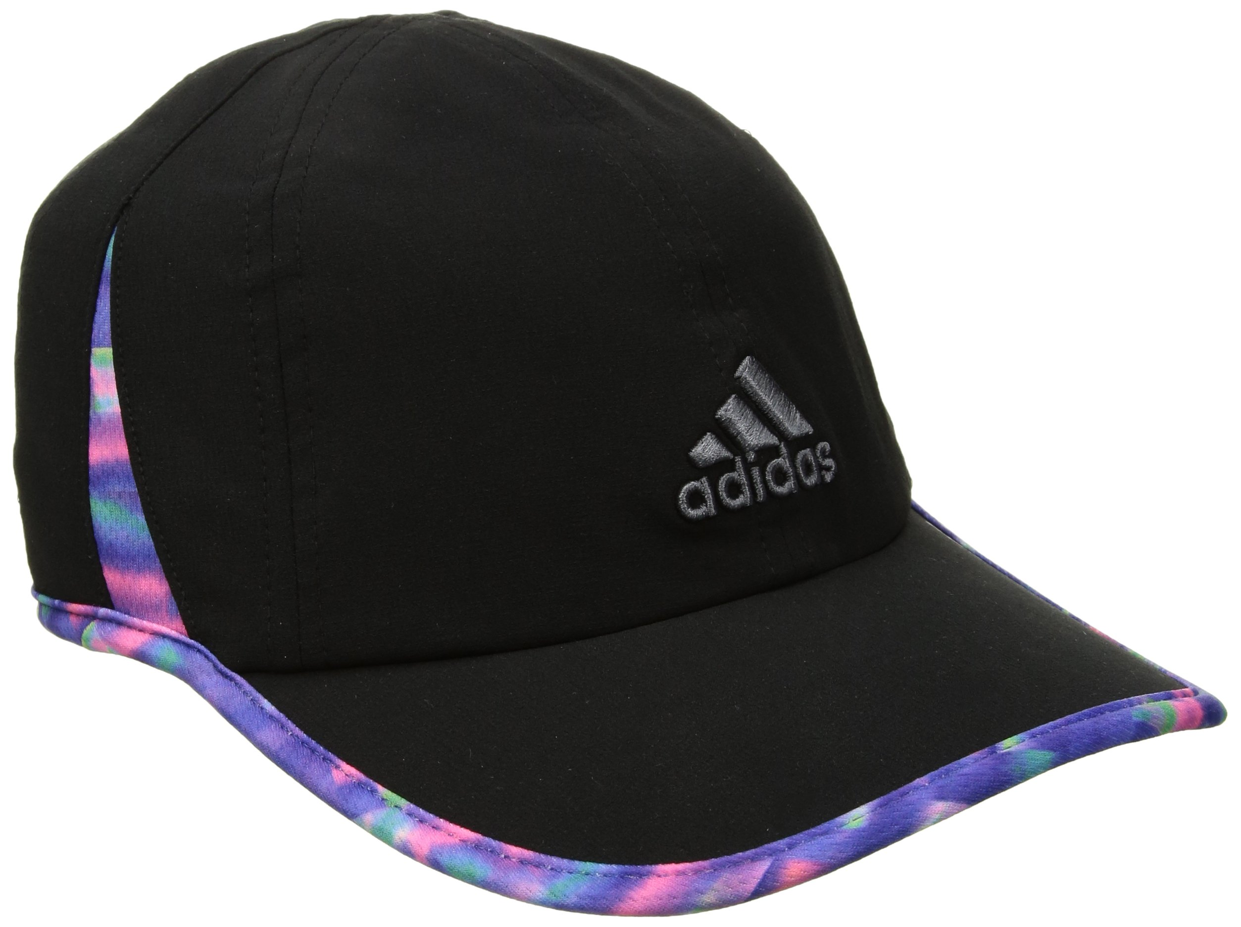 5e7c4af90 Galleon - Adidas Women's Adizero Relaxed Adjustable Performance Cap,  Black/Deepest Space Multi Jawbreaker Print, One Size