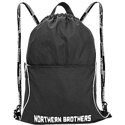 1d49f3e40e15 Drawstring Backpack,Sports Gymsack String Backpack Sackpack for Men Women  Children Large Size with Zipper