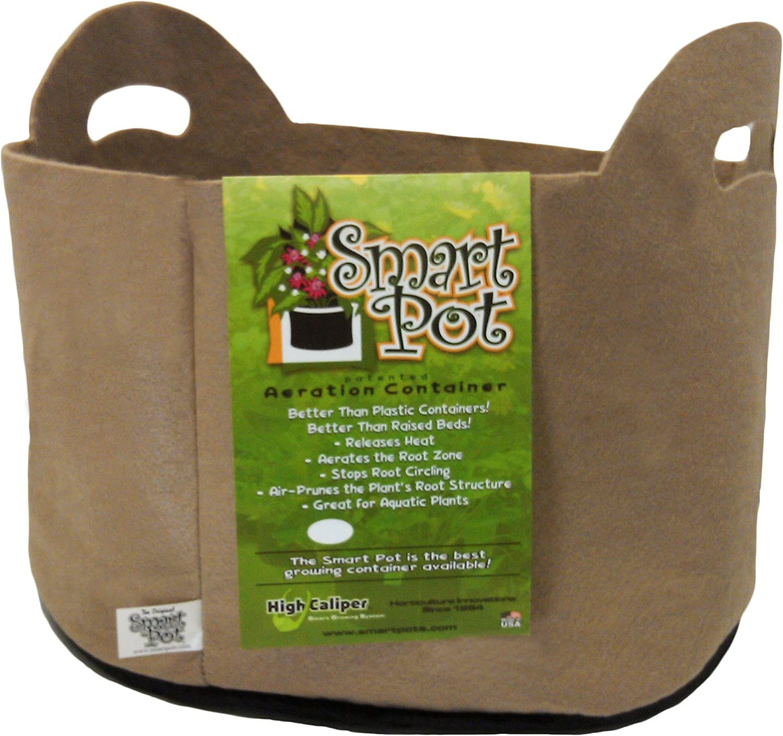 Smart Pots RCT10H 17010 Fabric Pot, 10-Gal, Tan
