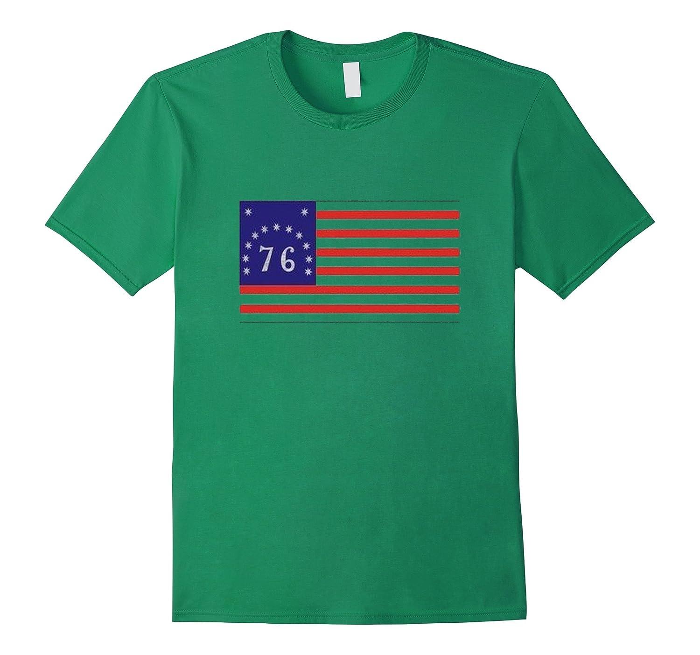 American Flag 1776 Shirt-Vaci
