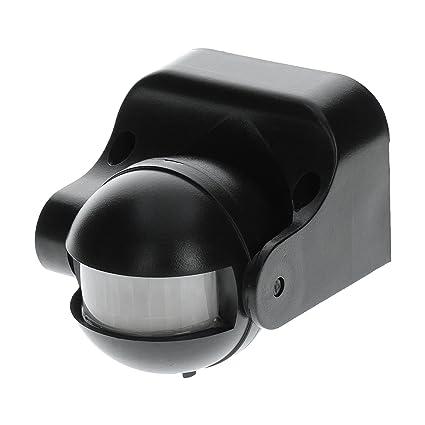 Orno Detector de movimiento infrarrojos 180 °/12 m, 1200 W, para interiores
