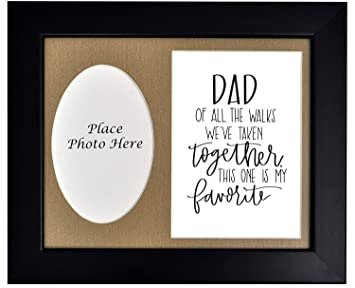 Amazoncom Dad Of Bride Picture Frame Dad Of All The Walks Weve