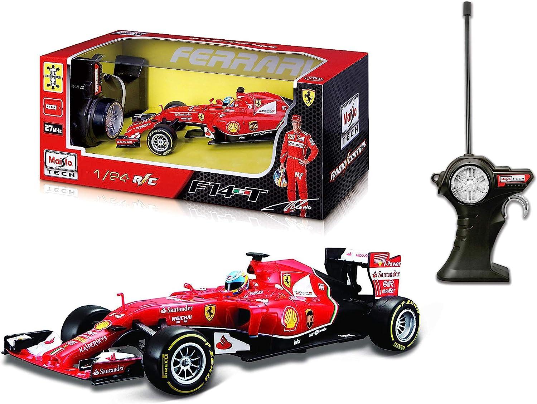 Outletdelocio. Coche radiocontrol Formula 1 Ferrari F14T'14 Fernando Alonso. Escala 1/24