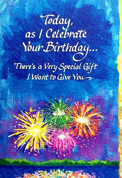 BMA - Tarjeta de felicitación para cumpleaños, diseño con ...