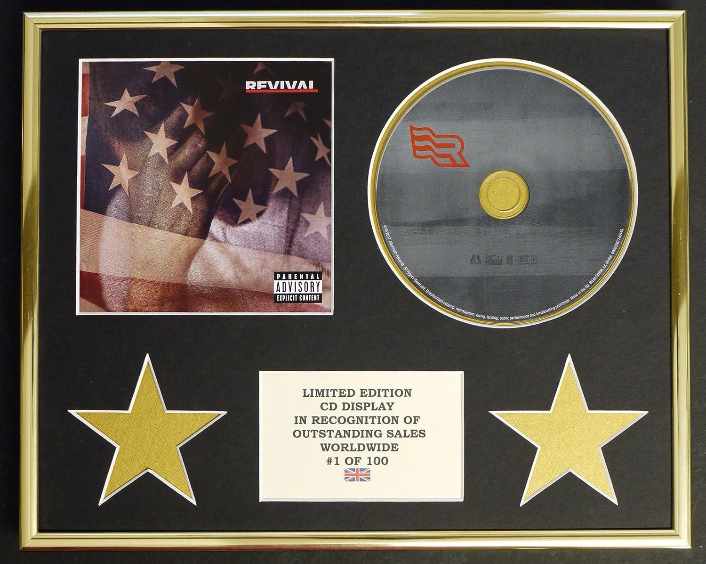 EMINEM/CD Display/Limitata Edizione/Certificato di autenticità /REVIVAL Everythingcollectible