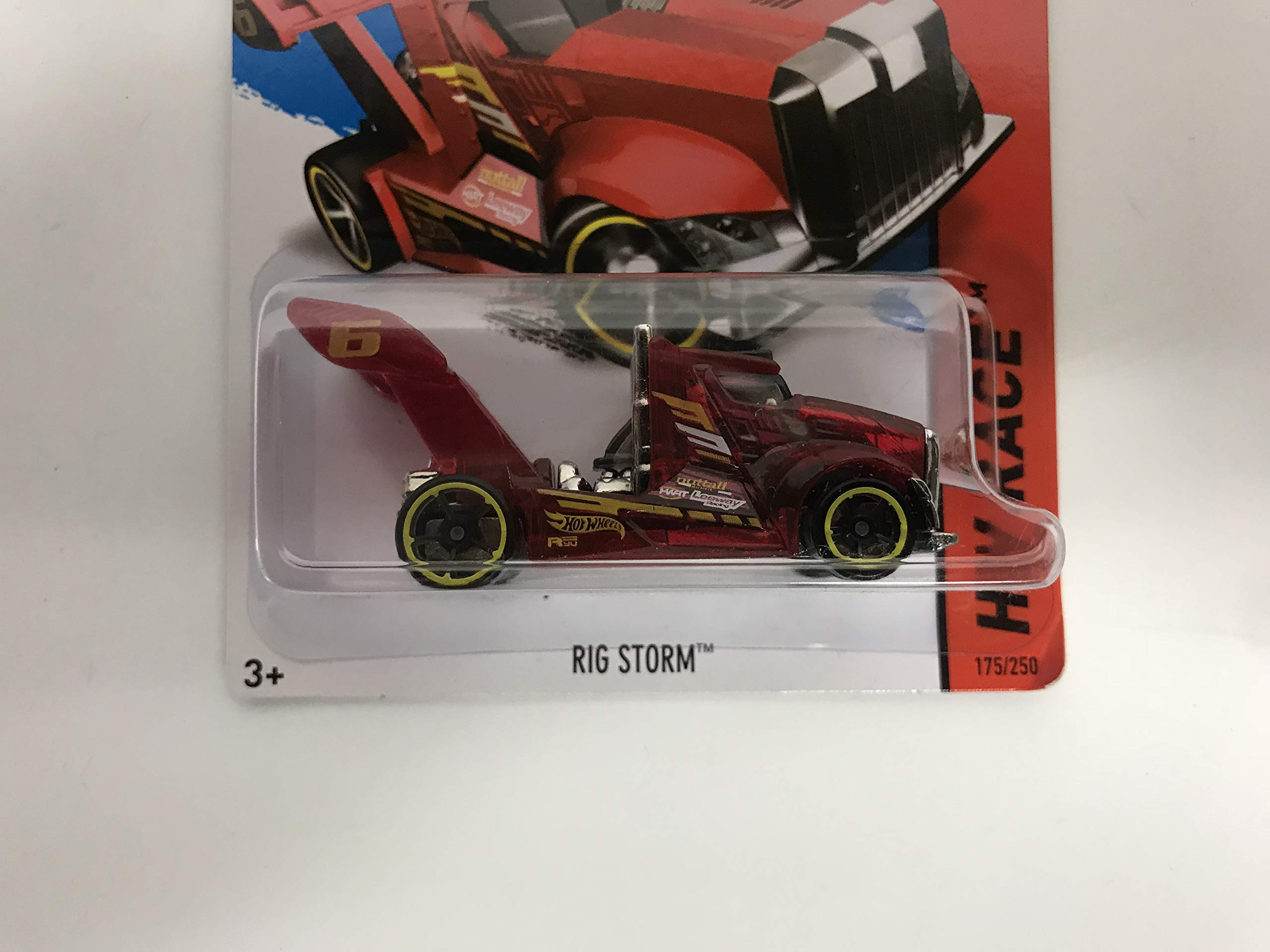 Rig Storm 2014 Hot Wheels HW RACE 175/250 diecast car
