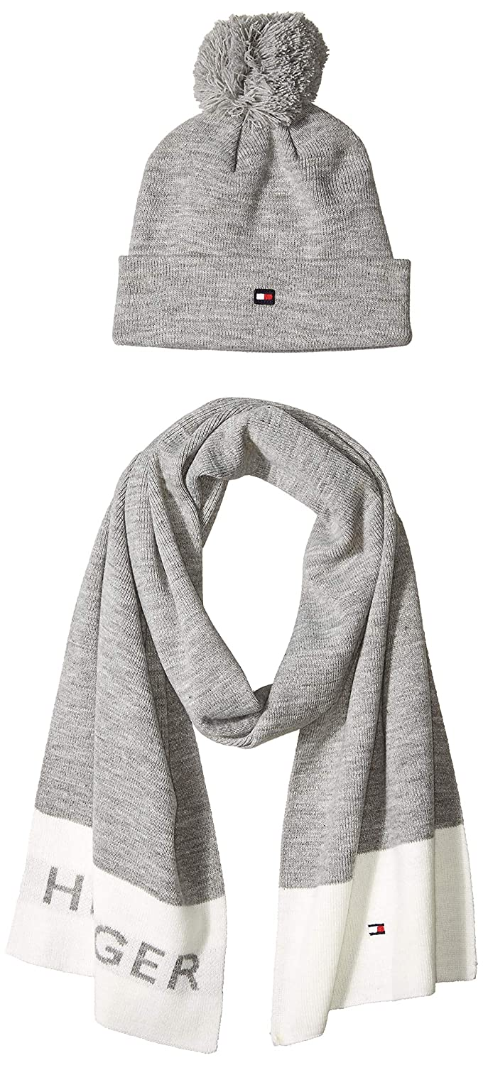 231577584ae8d Tommy Hilfiger Women s Hat and Scarf Set