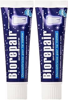 Biorepair Oral Cuidado Pasta de dientes para la piel sensible Noche 75 ml