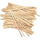 Disposable Birchwood Tea Wood Coffee Stir Sticks Wooden Stirrers 190mm 100 Pcs